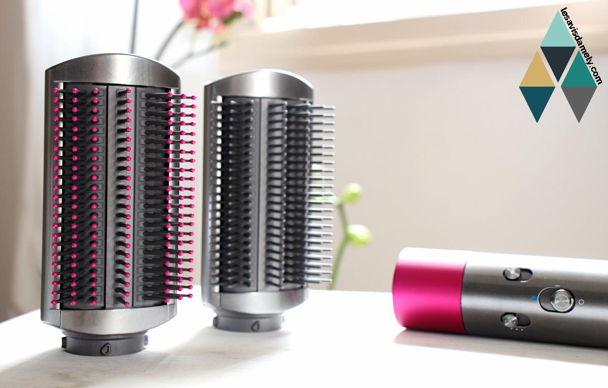 brosse lissage cheveux lissant airwrap dyson