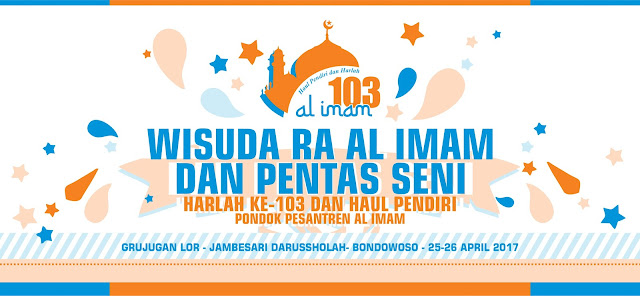 Baground Pentas Wisuda Haul dan Harlah Ponpes Al Imam Ke-103
