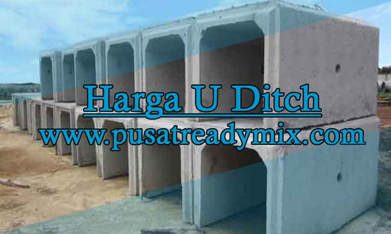 Harga U Ditch Saluran Air Purbalingga