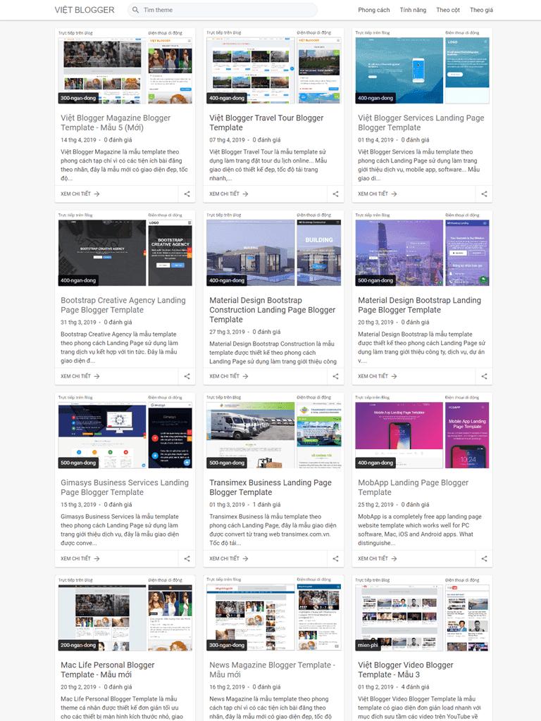 Free Themes   Giao Diện Blogspot Bán Template Gọn Gàng, Đơn Giản, Chuẩn SEO