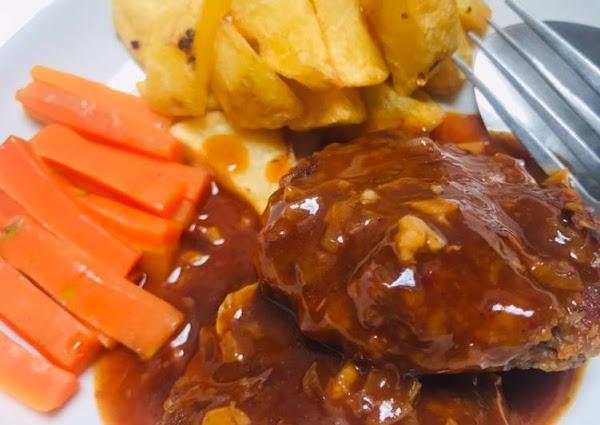 Bistik daging sapi simpel