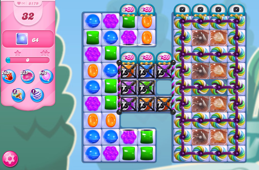 Candy Crush Saga level 8179