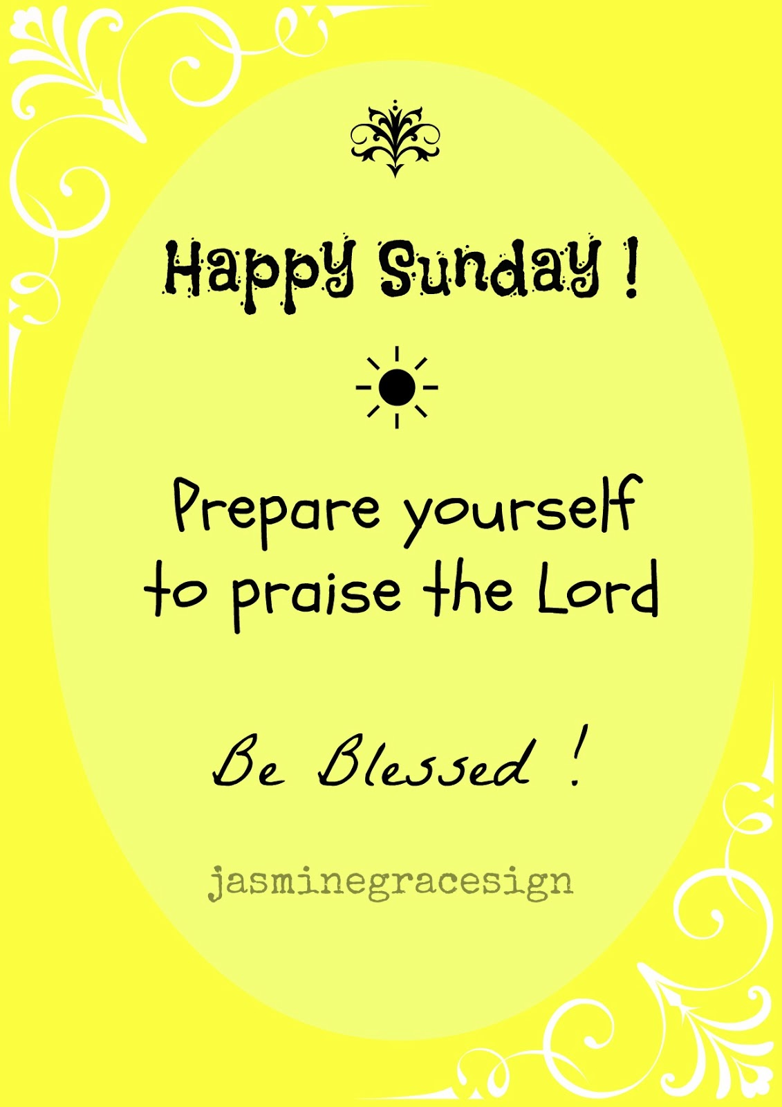 Made Well by Us: Happy Sunday