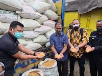 Satreskrim Polres Blitar Kota Kawal Bantuan Jagung dari Presiden RI untuk Suroto Peternak Asal Blitar