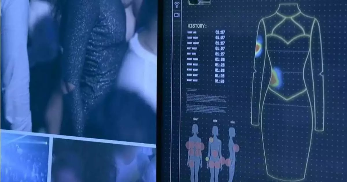 Dresses With Sensors Record Groping In An Effort To Convince Men That Women Are So Often Touched Against Their Will