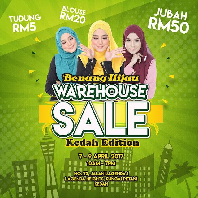 warehouse sale kedah