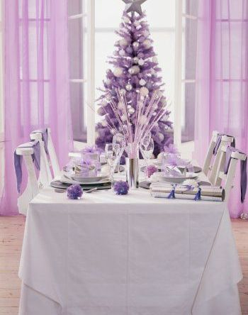 Home Christmas Decoration  Christmas Decoration Ideas  Theme Colors     Theme decoration Ideas  Purple Lilac Silver  Christmas with a twist   I am  so taken by the visual appeal of this Christmas theme  Every details in the  decor