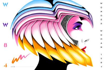 Wonder Woman 1984 Screen Prints by La Boca x Mondo
