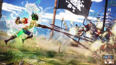 dari game Hack and Slash yang diangkat dari sebuah manga dan anime dengan judul One Piece Download Game One Piece Pirate Warrior 4 For PC