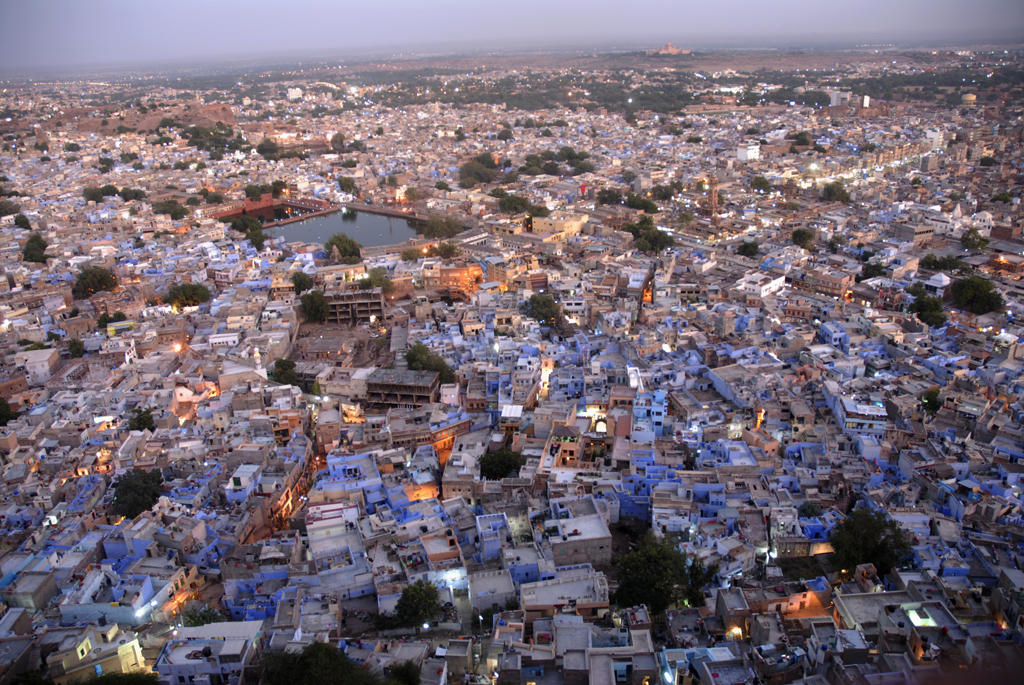 Jodhpur by night is among the many popular photos on the photographer's Facebook page, which has been appreciated of the fans.