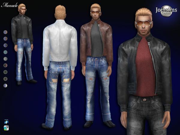 Мужская одежда для The Sims 4 со ссылками на скачивание
