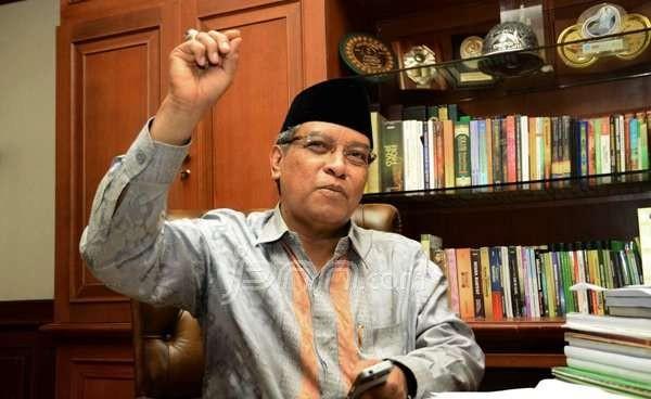 Kiai Said Aqil Singgung Sentimen Agama dan 212 di Depan Anies