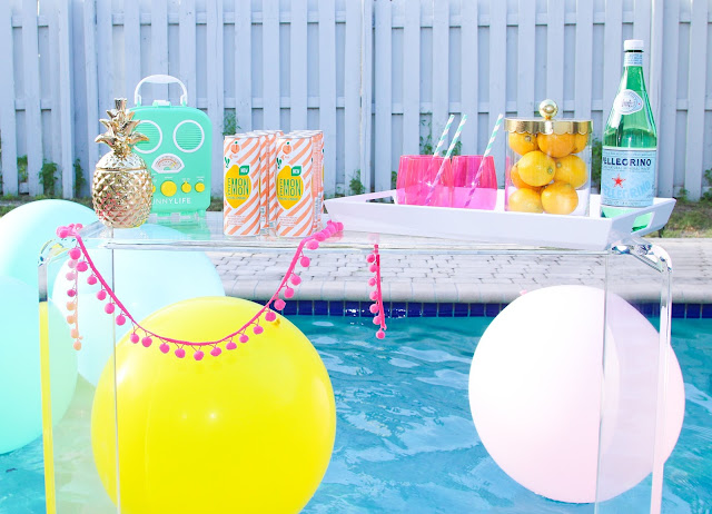 Labor Day Outdoor Pool Party by The Celebration Stylist