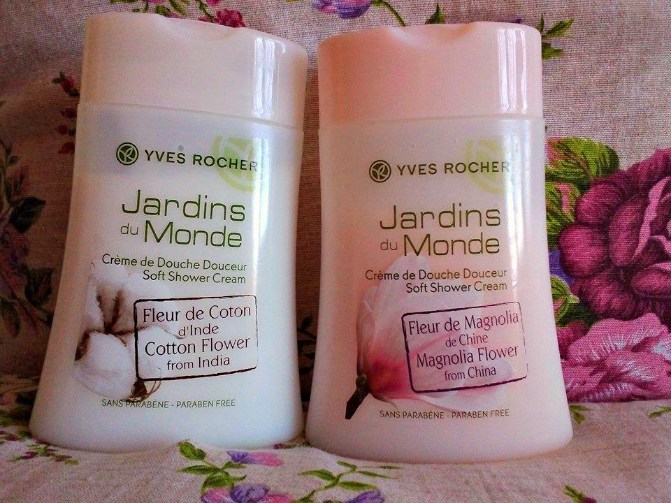 Jardins du monde yves rocher crema da doccia ai fiori di - Bagno doccia yves rocher ...