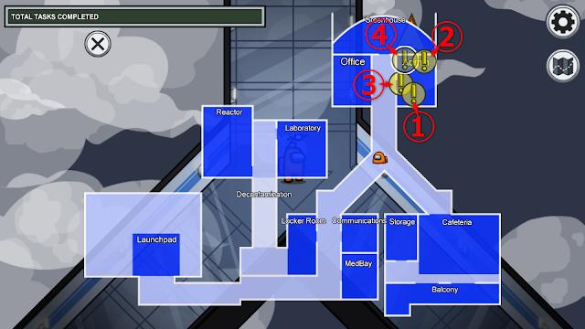 Admin(管理室)のタスクマップ説明画像