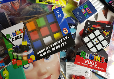 Pile O Presents Giveaway Rubik's Cage and Edge