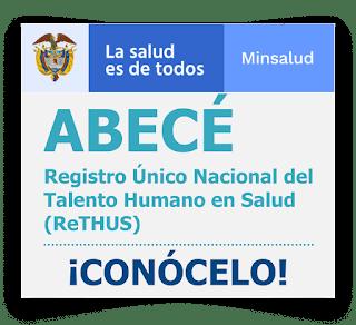 Descargar Certificado de Rethus en Colombia 2020