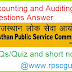 Accounting and Auditing Questions Answer