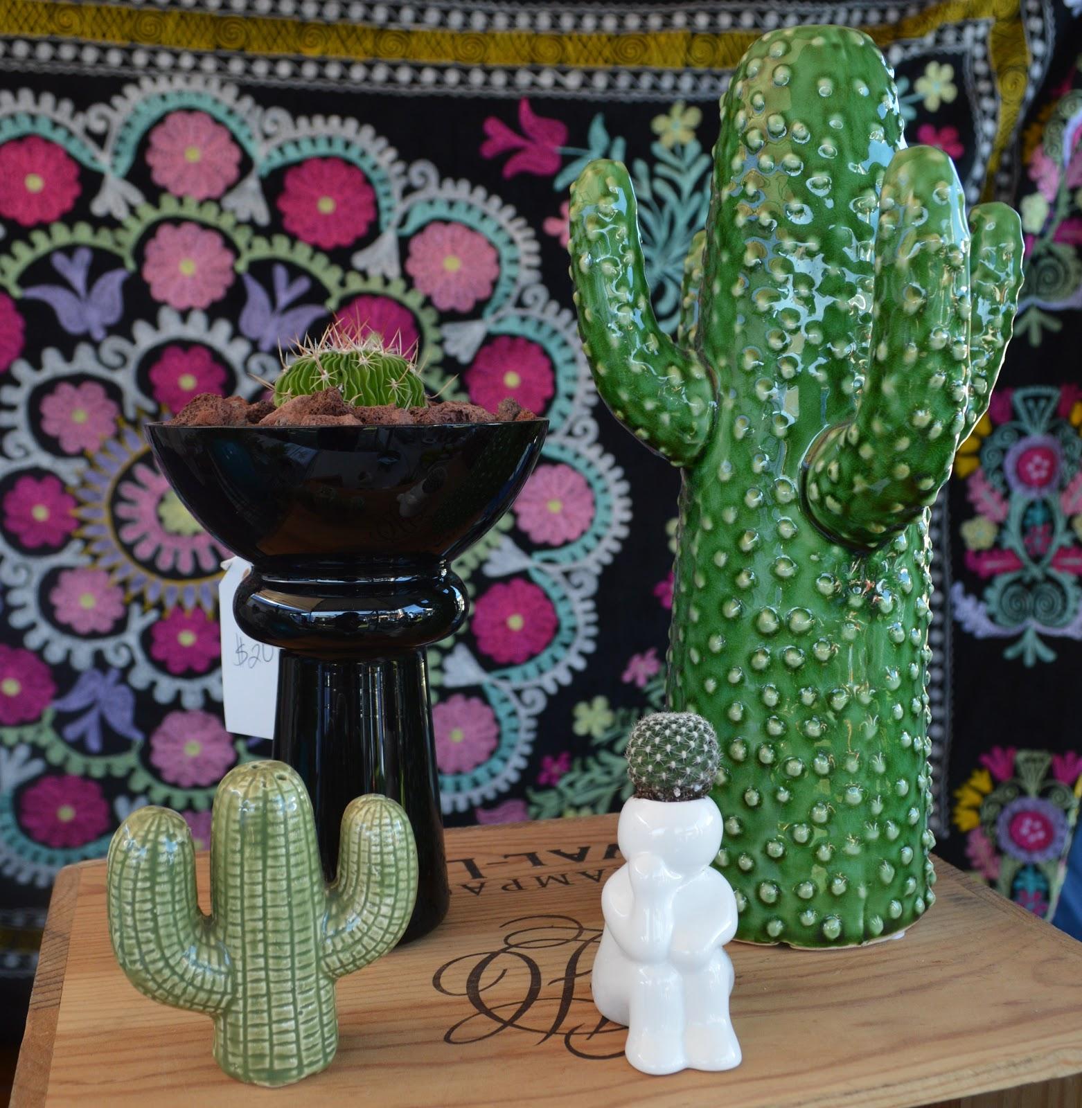 Inspire Bohemia At The Miami Flea Cactus And Succulent Planters
