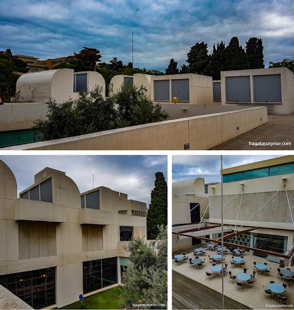 Edifício Sert, sede da Fundação Joan Miró, Barcelona