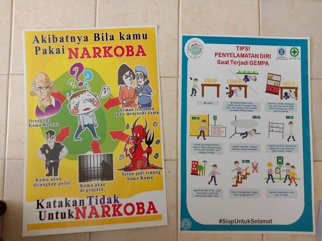 Poster Bahaya Narkoba dan Tips