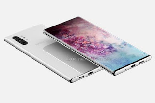 Samsung Galaxy Note 10 Pro appears in buttonless renderings for Bixby