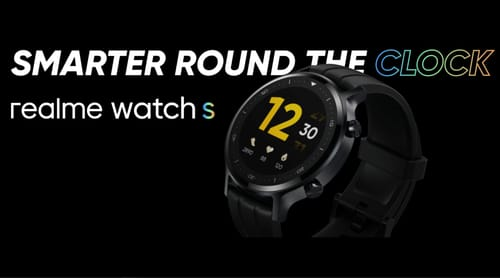 Realme announces the launch of the Realme Watch S