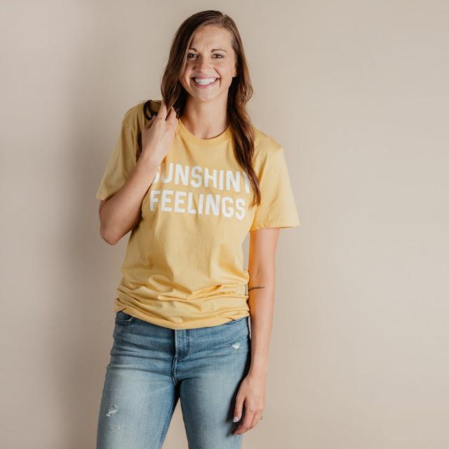 Sunshiny Feelings T-Shirt