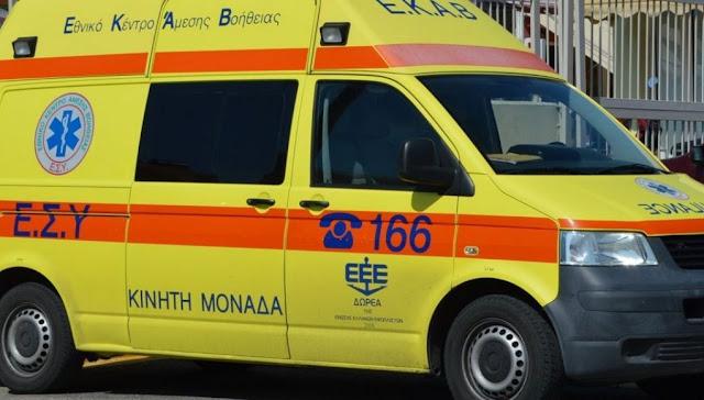 Θανατηφόρο τροχαίο το μεσημέρι με θύμα 14χρονο επιβάτη μηχανής
