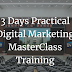 3 Days Digital Marketing MasterClass Training