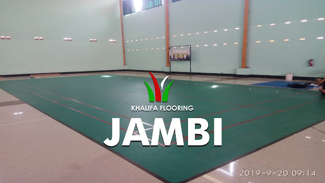 Jual Karpet Lapangan Badminton Jambi