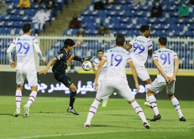 ملخص اهداف مباراة الاهلي وابها (1-1) الدوري السعودي