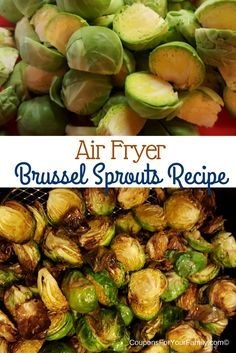 Airfryer Fried Brussel Sprouts