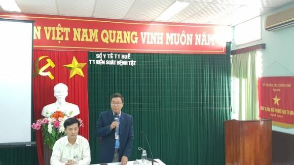 Đang họp báo công bố nguyên nhân tử vong của nữ sinh Huế