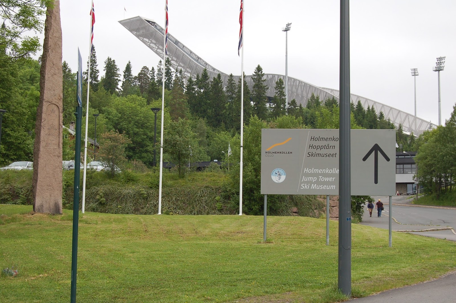 skocznia narciarska Holmenkollen, Oslo, Norwegia