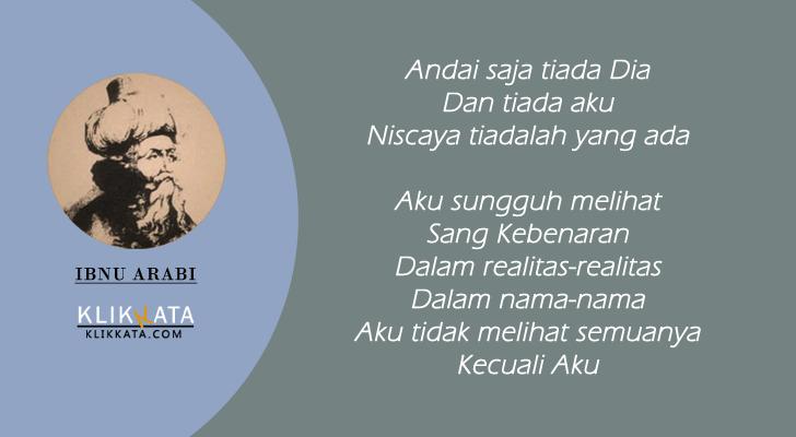 Kata Kata Ibn Arabi