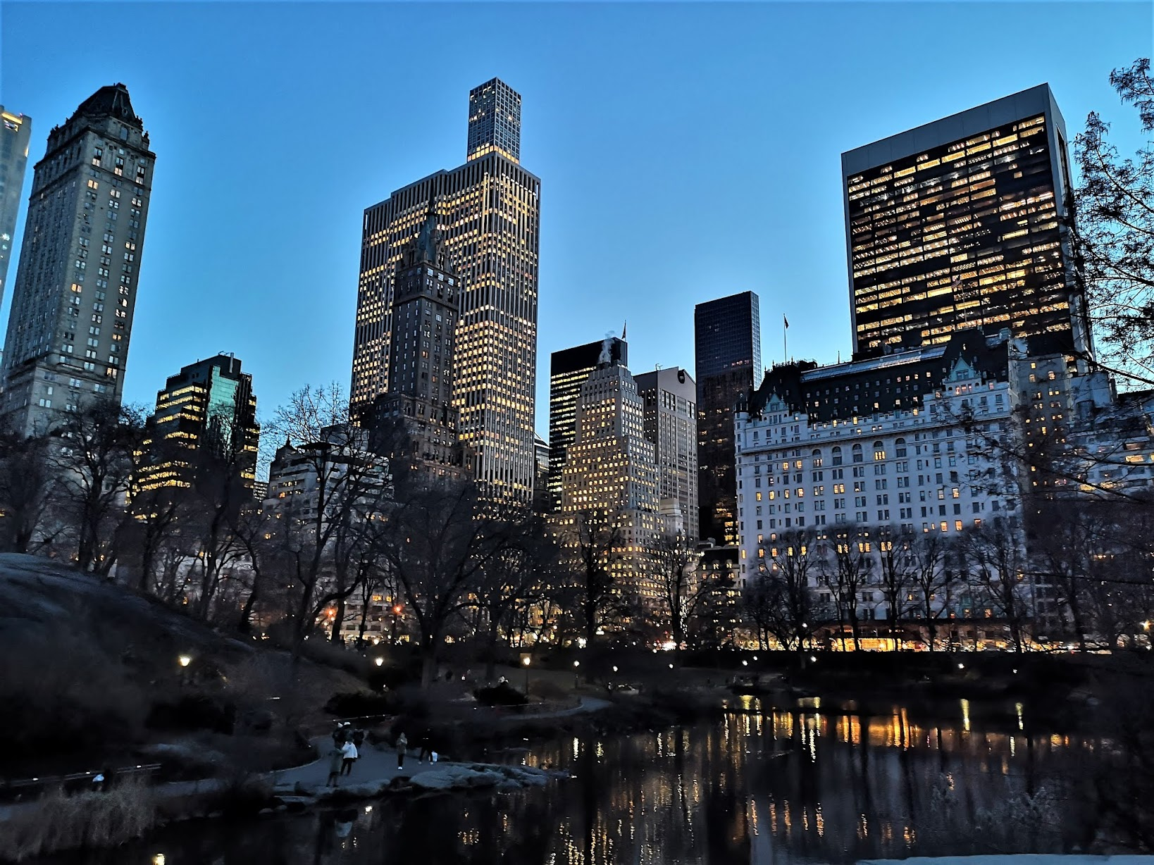 Central Park South skyscrapers, New York City