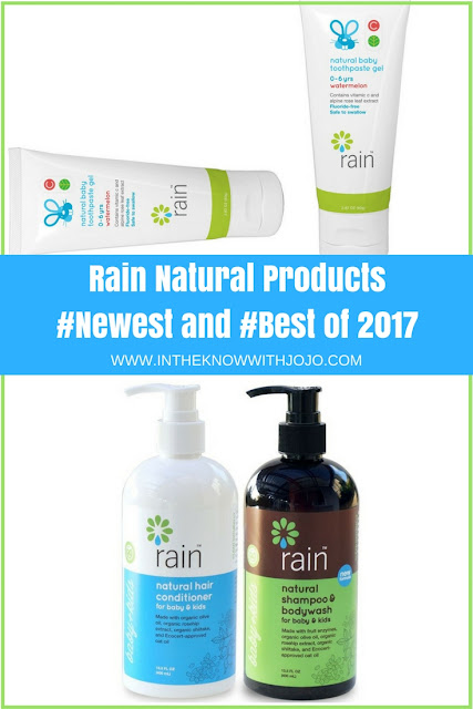 Give your body a healthy fruity treat with Rain Natural Products.
