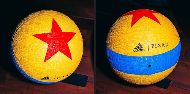 Adidas Pixar Luxo Basketball Toy Story Themed