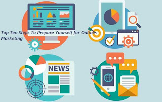 Top Ten Steps To Prepare Yourself for Online Marketing