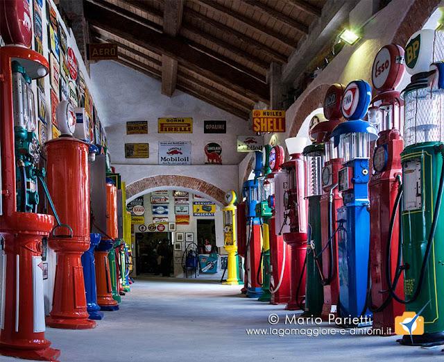 Una delle sale del museo Fisogni a Tradate