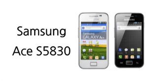 Samsung Ace S5830