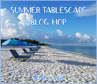 Summer tablescapes