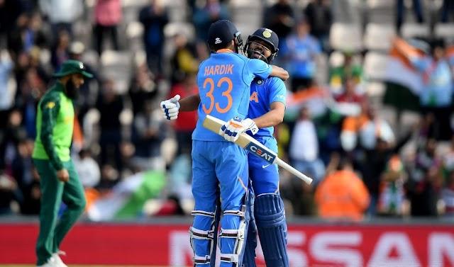 India vs South Africa:  Proteas lost their third WC Match to India-2019-Ageas Bowl, Southampton