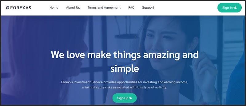 Мошеннический сайт forexvs.com – Отзывы, развод. Компания FOREXVS мошенники