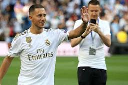 Keinginan Hazard Tercapai Ketika Bergabung Dengan Real Madrid