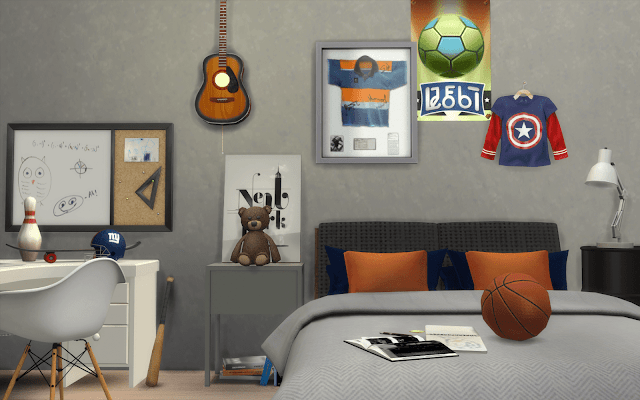 basket bedroom sims 4