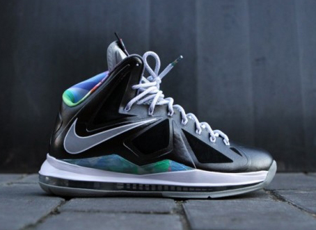 Nike The LeBron X Prism magic flower prism shoes exposure d3916809f3
