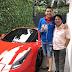 Watch: Willie Revillame drove his P25 Million Ferari car with Josh Aquino