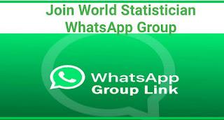 Join World Statistician WhatsApp Group